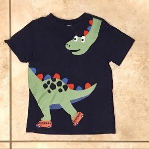 5T Gymboree Rollerskating Dinosaur T-Shirt